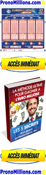TIRAGE EURO MILLIONS ET PRONOSTIC