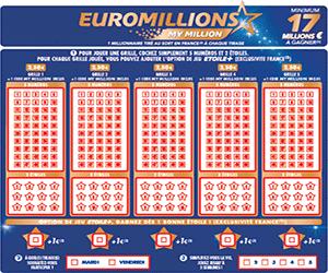Resultat et gain de l euro million
